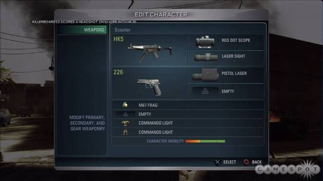 You can customize all the guns just the way you like them.